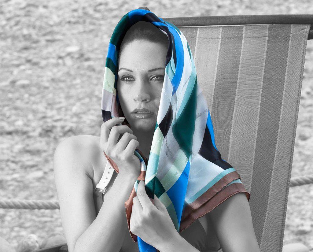 foulard da donna made in italy